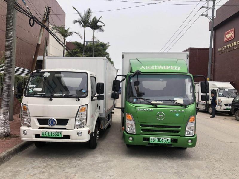 电动货车出租、厢式车货车出租、深圳中海龙货车出租(商家)